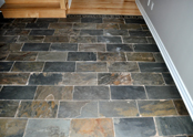 The charm of slate tiles reflect